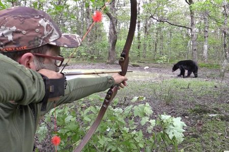 clay newcomb bear hunting magazine